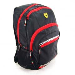 Mochila Ferrari Cavallino Preta ref 425608-2 Foroni