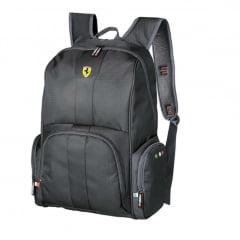 Mochila Ferrari Stradale Preto ref 425610-6 Foroni