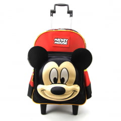 Mochila de Rodinha Mickey Mouse 3D Sestini 065304