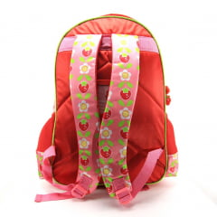 Mochila Moranguinho Infantil Costas Luxcel IS32281MG
