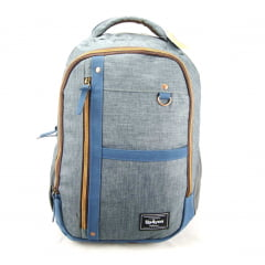 Mochila Para Notebook Up4you Azul Luxcel MJ48345UP