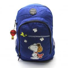 Mochila Snoopy x Up4you com Chaveiro Luxcel MJ48781UP