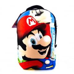 Mochila Super Mario Nintendo Costas Overprint Estampa 180º DMW 11167
