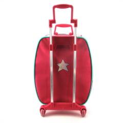 Mochila de Rodinha Baú Barbie Aventura nas Estrelas com Caixa de Som Sestini 064734-06