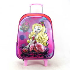 Mochila de Rodinha Ever After High Holográfico Sestini 064753