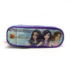Mochila de Rodinha Disney Descendentes Kit Com Lancheira e Estojo Dermiwil 51908