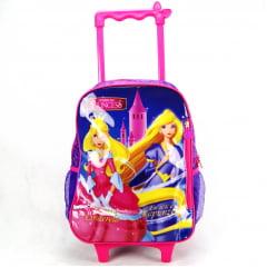 Mochila de Rodinha Princesas Junior Elf ref IC31002PR Luxcel