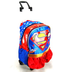Mochila de Rodinha Super Girl DC Hero Sestini 064722