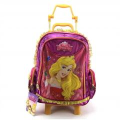 Mochila De Rodinha Bela Adormecida Princesa Disney Dermiwil 36901