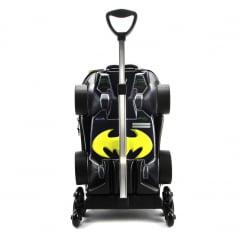 Mochila de Rodinha Batman Batmóvel 3D Com Lancheira Diplomata Maxtoy 3805PM19