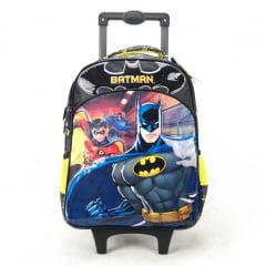 Mochila De Rodinha Batman 14 Bat Squad Xeryus 7231