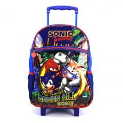 Mochila de Rodinha G Sonic Kit com Lancheira e Estojo Pacific 989A01