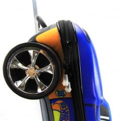 Mochila de Rodinha Hot Wheels 3D Com Lancheira Diplomata Maxtoy 2500AM19