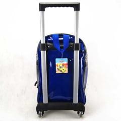 Mochila de Rodinha Fiat Fun Azul ref IC31584FT Luxcel