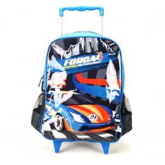 Mochila de Rodinha Força 4 Motorsport Azul Luxcel IC32152FA