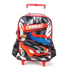 Mochila de Rodinha Força 4 Motorsport Vermelho Luxcel IC32152FA