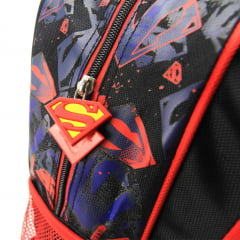 Mochila de Rodinha Superman Infantil Luxcel IC32212SM