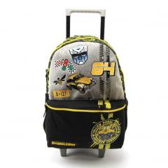 Mochila de Rodinha G Transformers Bumblebee Pacific 933V01