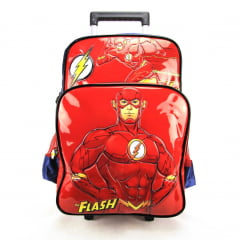 Mochila de Rodinha The Flash DC Comics Luxcel IC32922FM-AZ