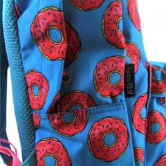 Mochila Donuts Container com Garrafa Plástica Dermiwil 37746