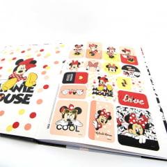 Caderno Brochura Capa Dura Universitário Minnie 80 Folhas Tilibra - Kit com 4 Unidades