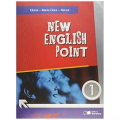Livro New English Point 1. Ensino Fundamental - Editora Saraiva