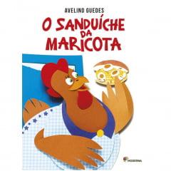 Livro O Sanduiche da Maricota - Editora Moderna