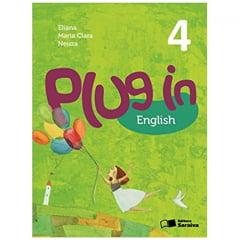 Livro Plug in English 4º Ano - Editora Saraiva
