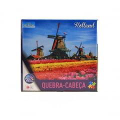 Quebra Cabeça Holanda 300 peças Pais e Filhos 2977