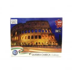 Quebra Cabeça Coliseu 500 peças Pais e Filhos 7265