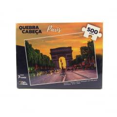 Quebra Cabeça Paris 500 peças Pais e Filhos 2978